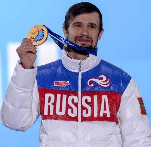 Олимпийский чемпион по скелетону Александр Третьяков